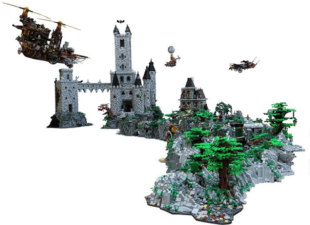 lego vampyre castle instructions