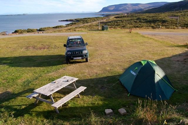 camping in Islanda