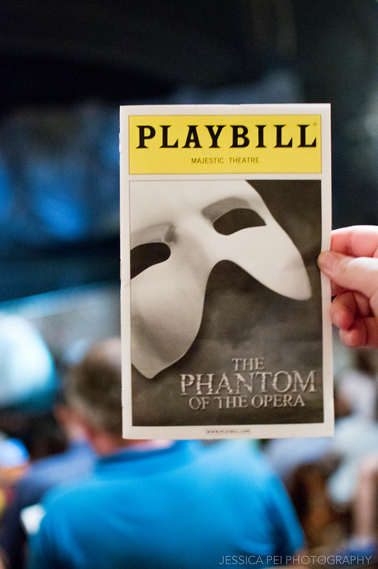 Phantom of the Opera Broadway Playbill in Majestic Theatre New York City