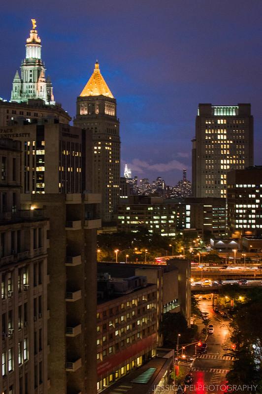 new york city night photography chrysler