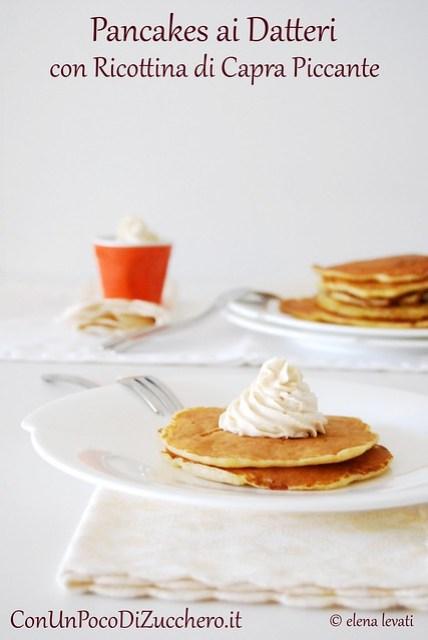 Pancakes ai datteri 1