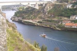 le douro depuis la cathedrale de Porto
