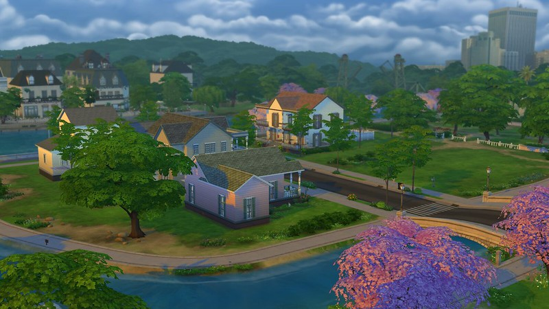 Les Sims 4 Willow Creek