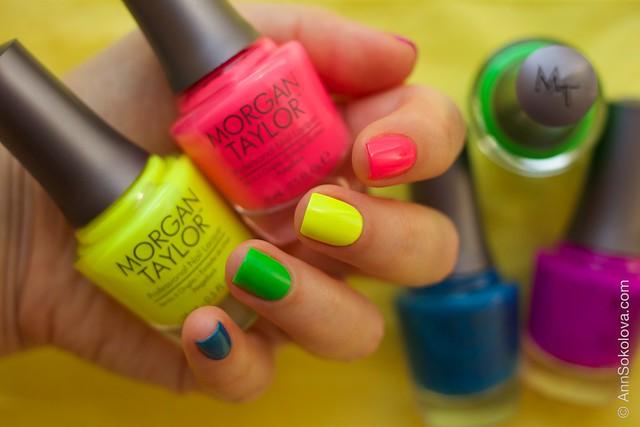 03 Morgan Taylor Neon Lights nails