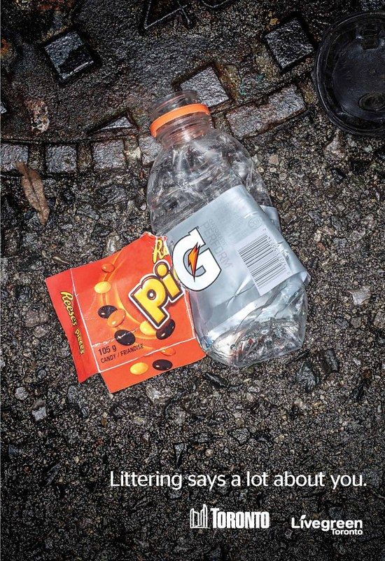 Littering Says a Lot about you 2