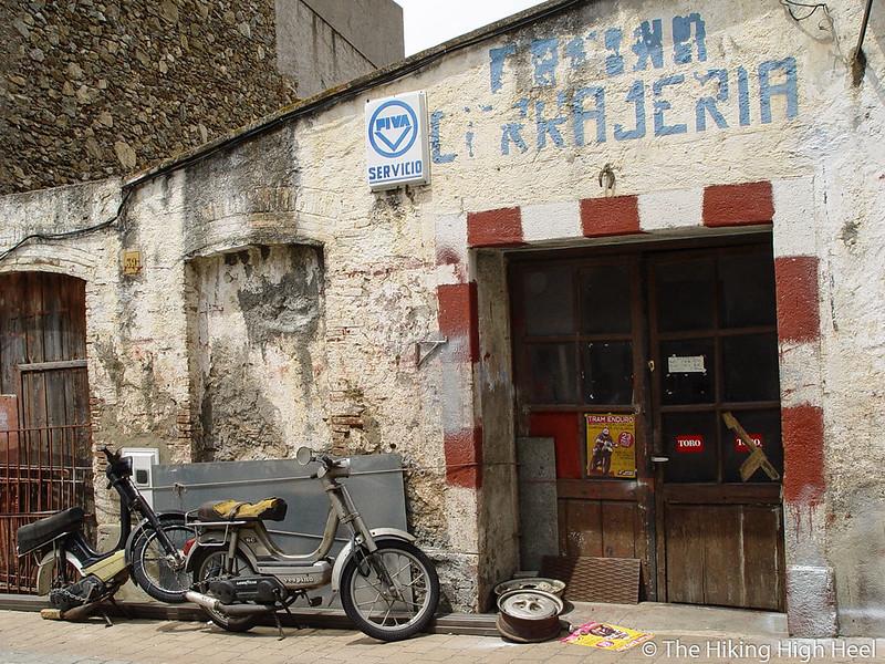 Werkstatt an der Costa Brava, Spanien
