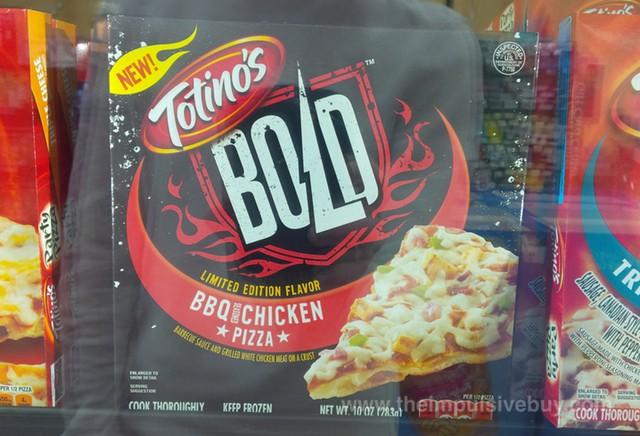 Totino's Bold Limited Edition Flavor BBQ Seasoned Chicken Pizza