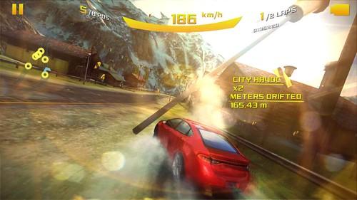 เล่นเกม Asphalt 8: Airborne บน Samsung Galaxy Mega 2