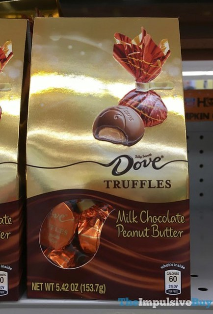 Dove Truffles Milk Chocolate Peanut Butter