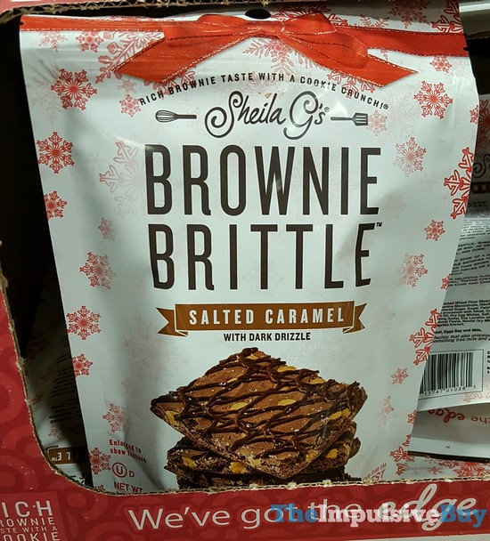 Sheila G's Brownie Brittle Salted Caramel with Dark Drizzle
