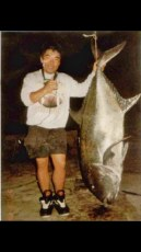 Dean Murat and his huge 116 lb ulua