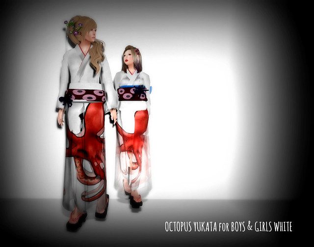 *N*OCTOPUS YUKATA for Boyz & Girls