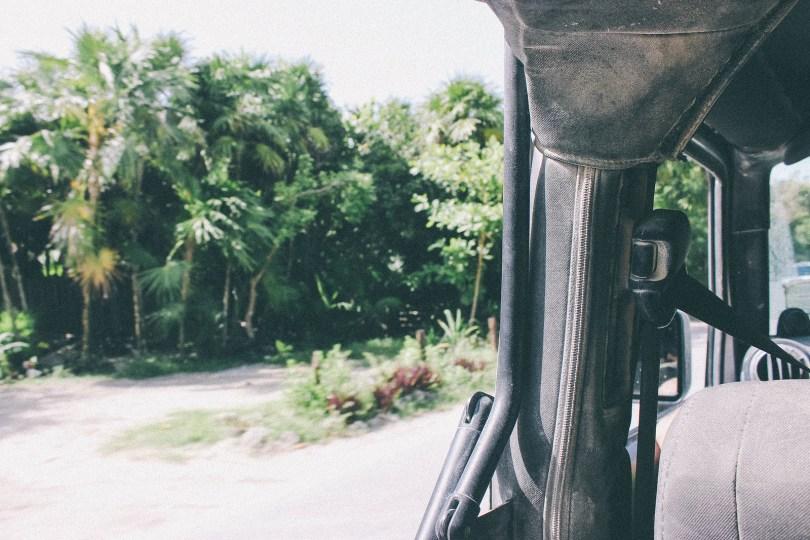 Jeep Safari in Sian Ka'an
