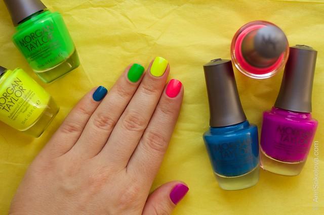 04 Morgan Taylor Neon Lights nails