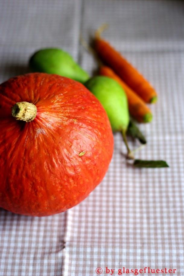 Kürbis-Birnen-Karotten Marmelade by Glasgeflüster 1 klein