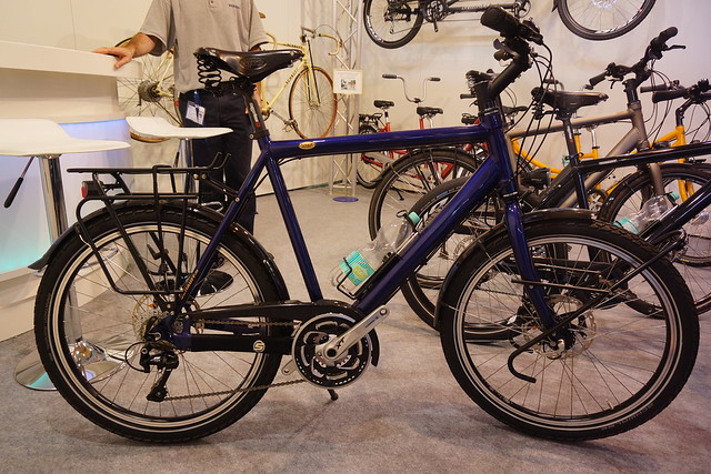 Eurobike 2014: Schauff heavyweight touring bikes