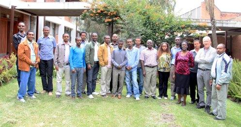 Participants of the writeshop