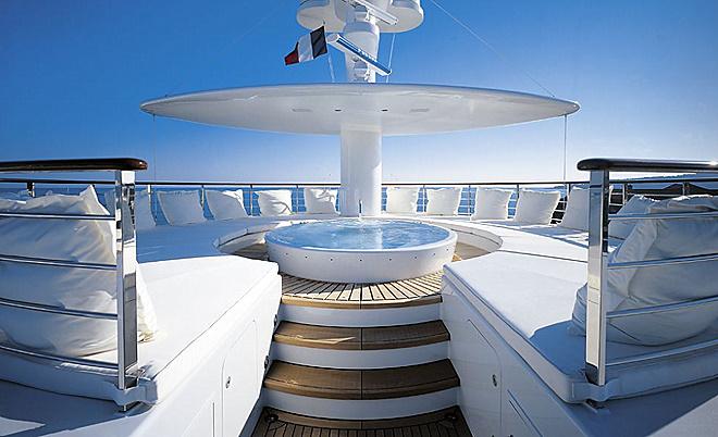 Andrey Melnichenkos Stunning Philippe Starck Yacht
