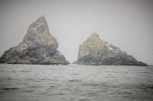 Twin Rocks near Brookings, OR