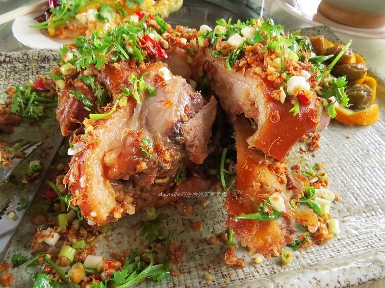 蒜香圓蹄 (2)