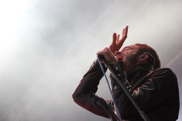 Tom Smith - Editors, live at Frequency Festival 2014, ph. Francesca Fiorini Mattei