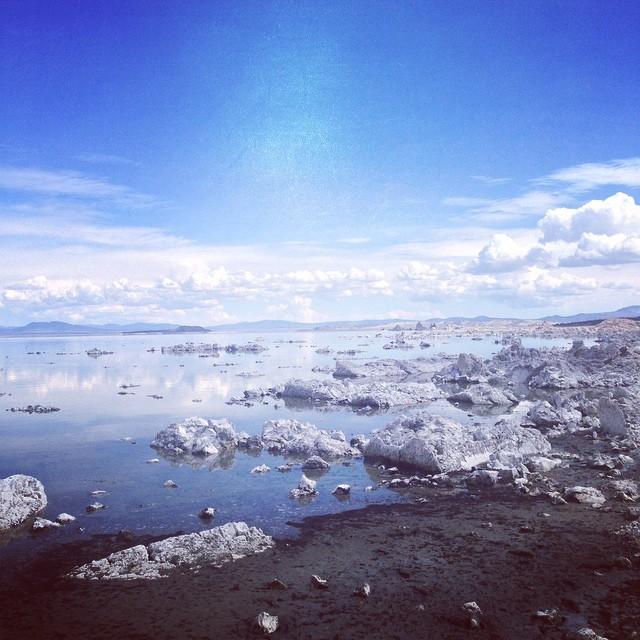#monolake #saltflats
