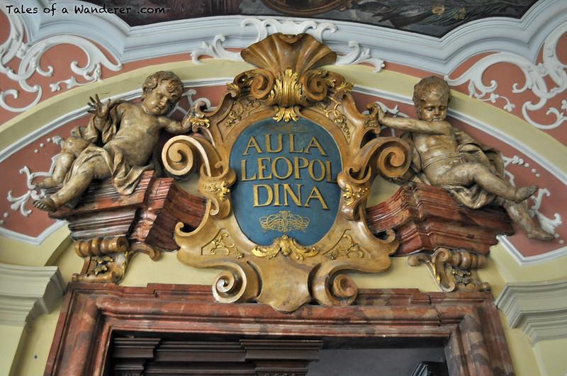 WROCŁAW - Gmach główny Uniwersytetu Wrocławskiego - Aula Leopoldina