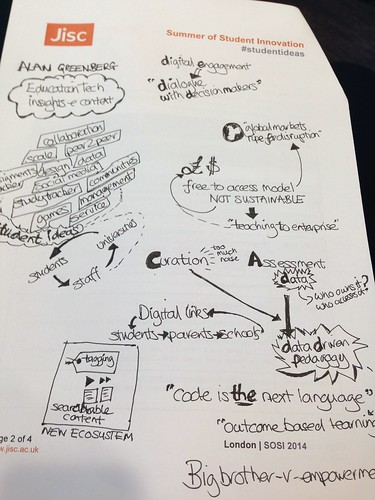 Notes from Alan Greenberg talk, 17 September 2014