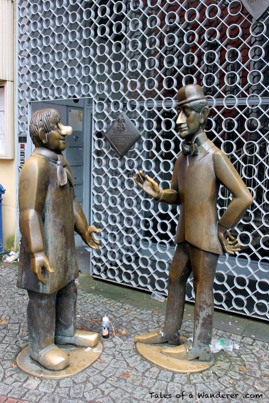 KÖLN - Denkmal 'Tünnes und Schäl'