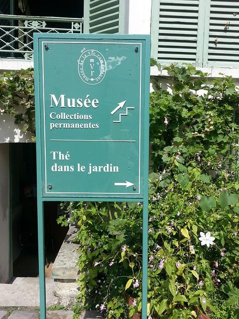 Musée de la Vie Romantique tea garden