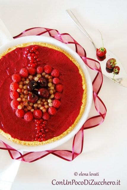Red fruits curd tart 2