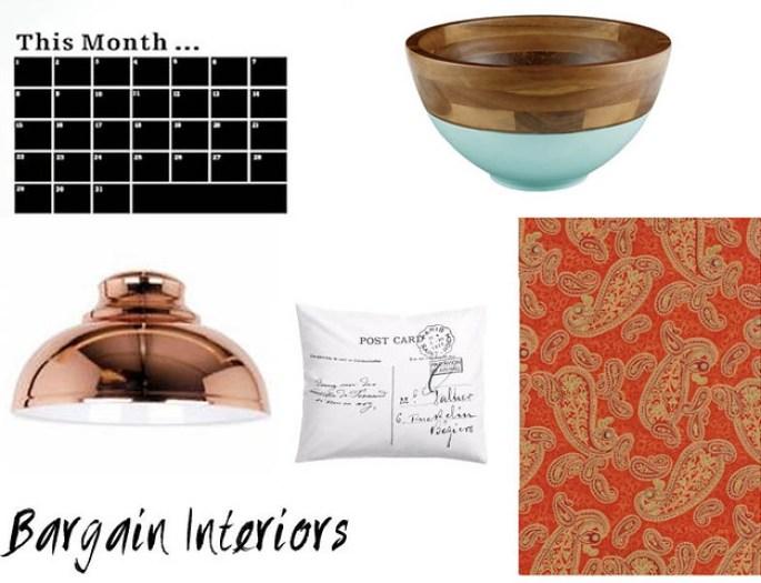 bargain interiors cheap homeware