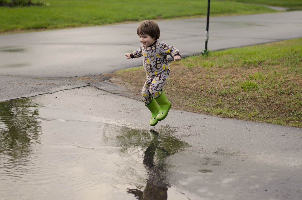 short story // puddle jumping 5