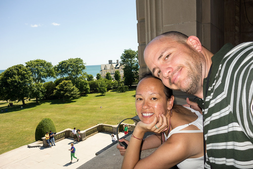 An usie from the Breakers balcony.