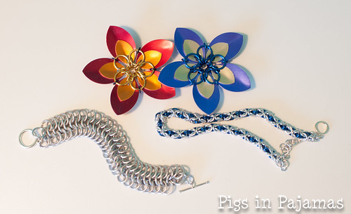 Chainmaille and scale maille