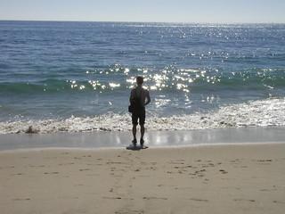 ラグナビーチにて