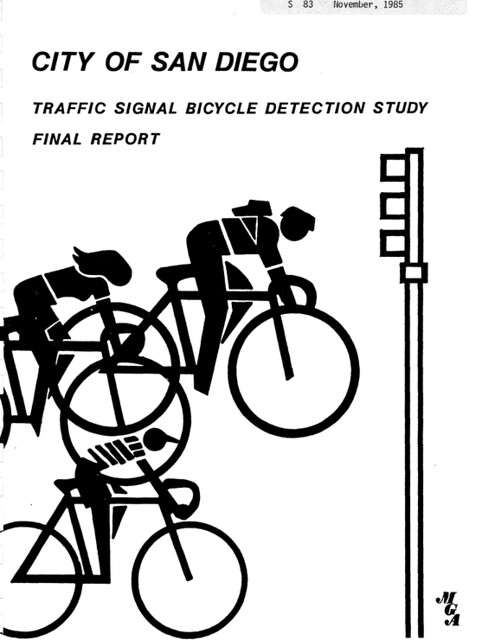 San Diego bicycle detection report 1985