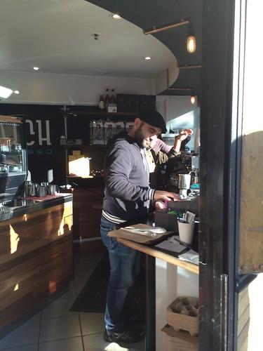 Where the magic happens - Hatch espresso, Chippendale