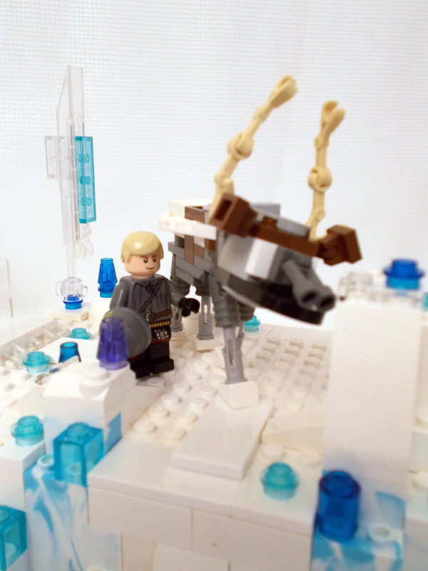 Elsas Ice Castle from Disneys Frozen in LEGO  The