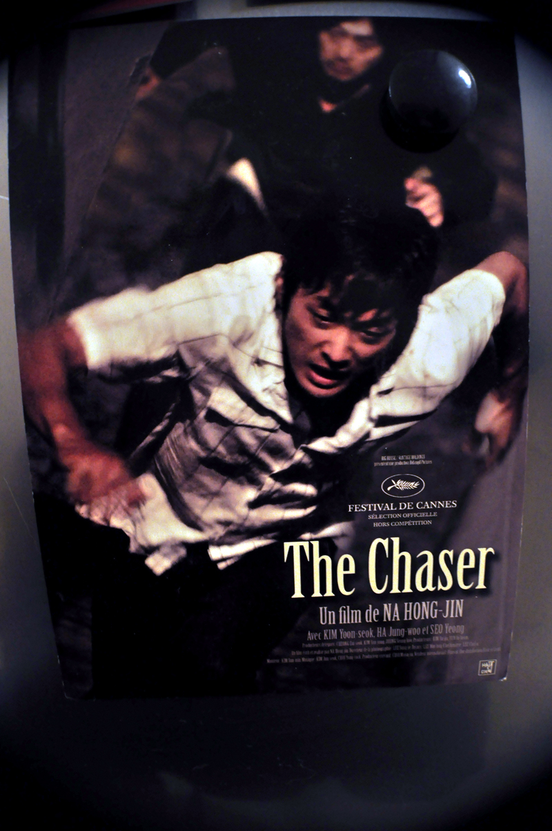 The Chaser postcard