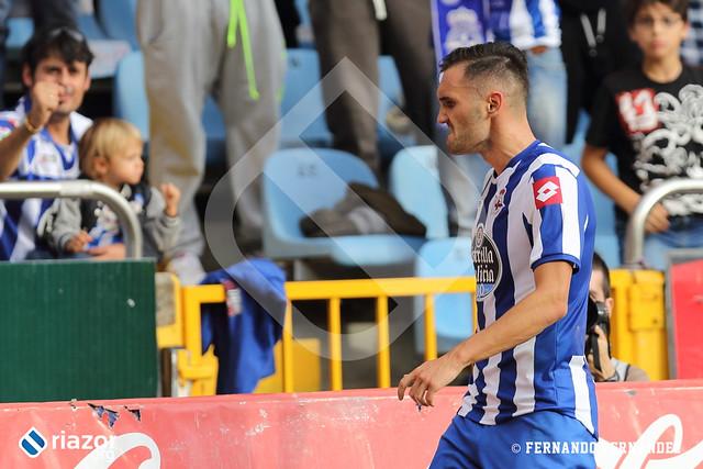 Jornada 8ª. R.C.Deportivo - Valencia