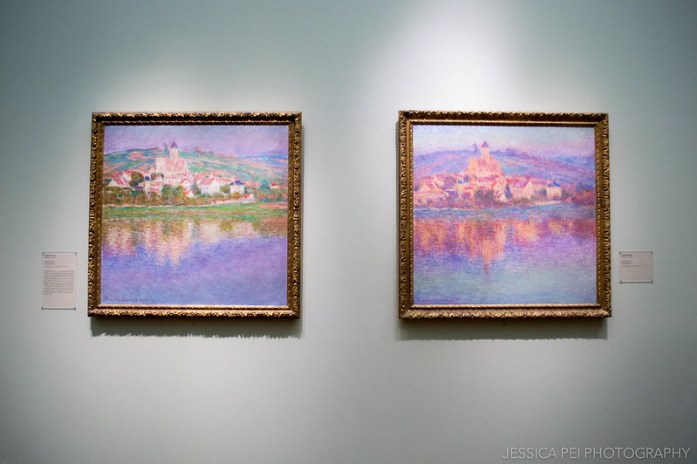Claude Monet - Vetheuil in Art Institute of Chicago