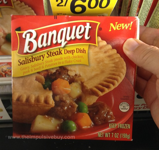 Banquet Salisbury Steak Deep Dish