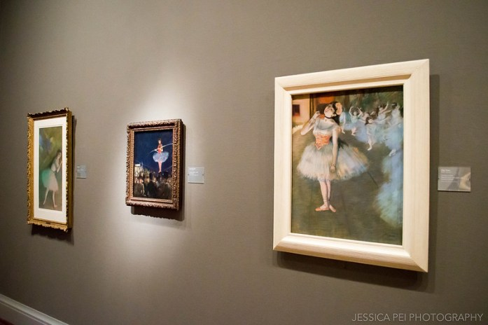 Edgar Degas Ballerina Paintings in Art Institute of Chicago