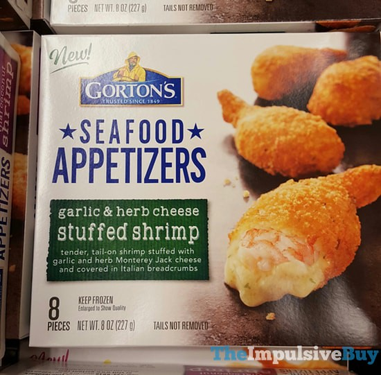 Gorton's Seafood Appetizers Garlic & Herb Cheese Stuffed Shrimp