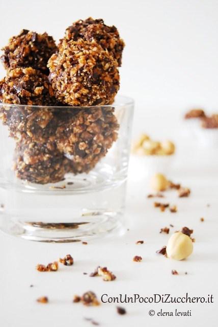 Nougatine truffles 2