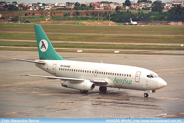 , Aerosur Paraguay (Paraguai), Portal Aviação Brasil