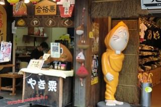 CIMG0978 Se parece a Tingle, Calle de tiendas hacia el Tenmangu (Dazaifu) 12-07-2010 copia