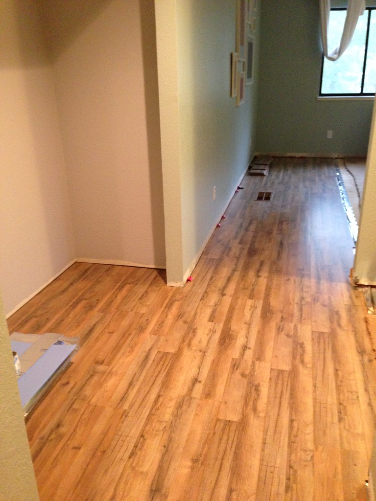 New Flooring, Day 1