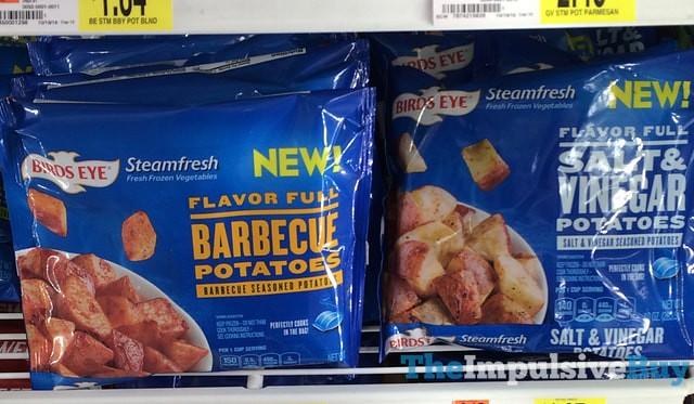 Birds Eye Steamfresh Flavor Full Barbecue Potatoes and Salt & Vinegar Potatoes